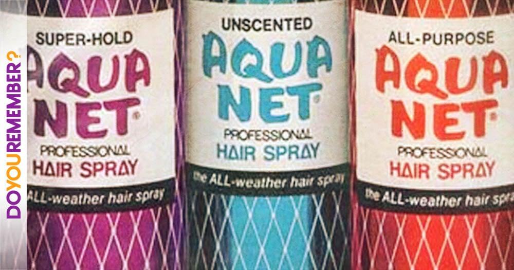 Image result for aqua net hair spray
