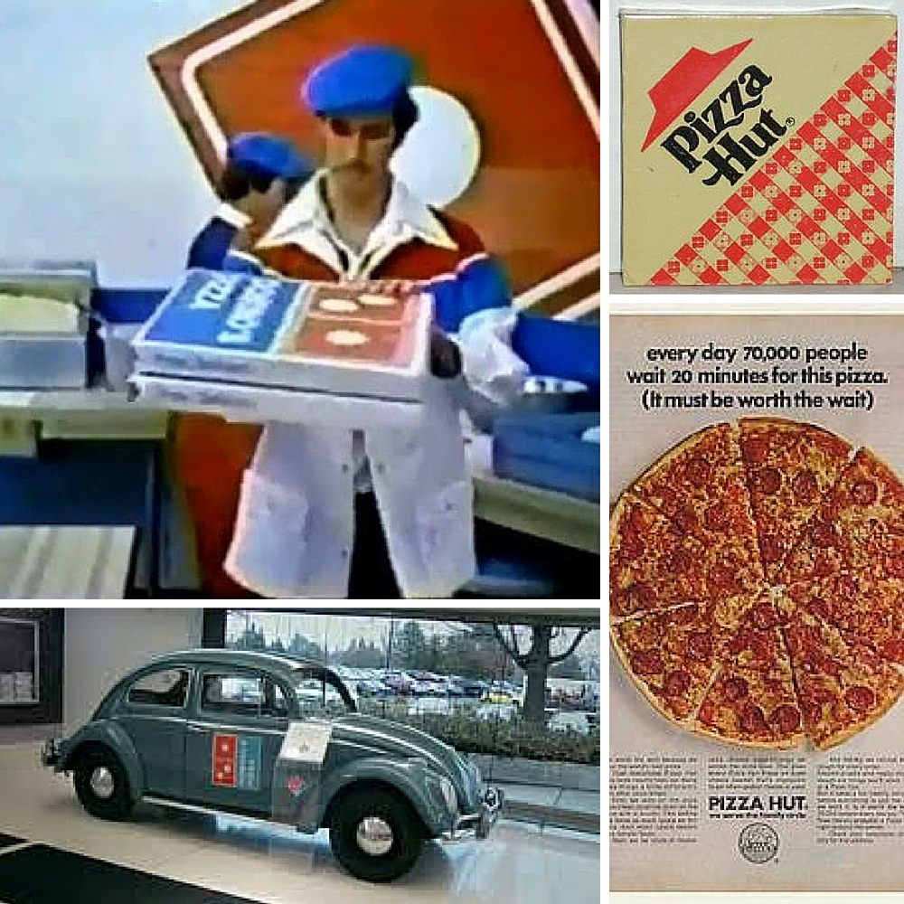 Pizza-Collage