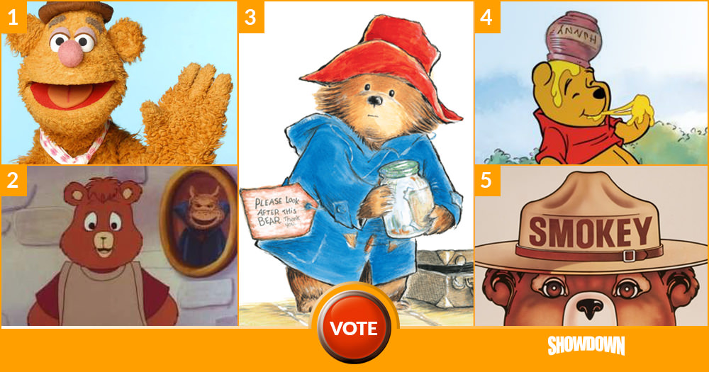 Who Is Your Favorite Bear?