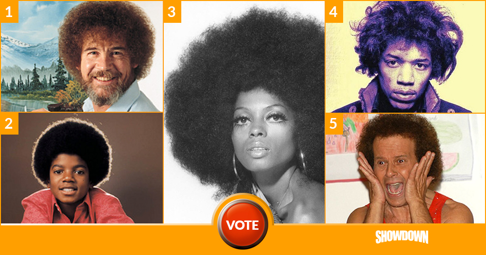 Who Had the Best Afro?