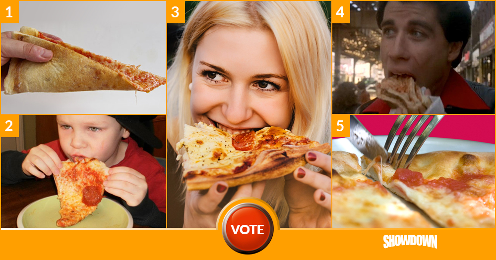 Favorite Way of Eating Pizza?