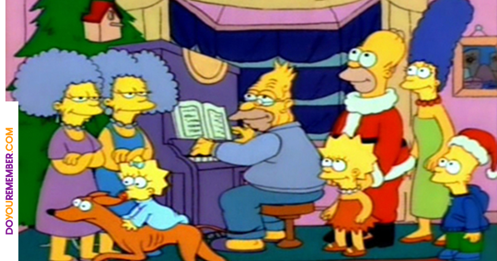 Simpsons Christmas.The Original Simpsons Christmas Special 25 Years Later