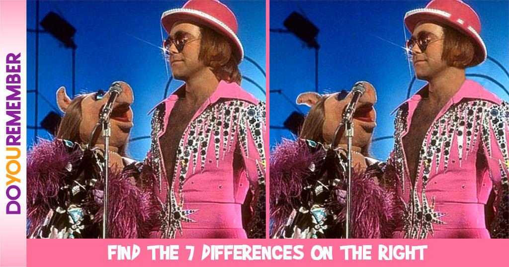 MisMatch 47- Elton John & Miss Piggy
