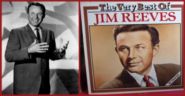 Popular musician, Jim Reeves.