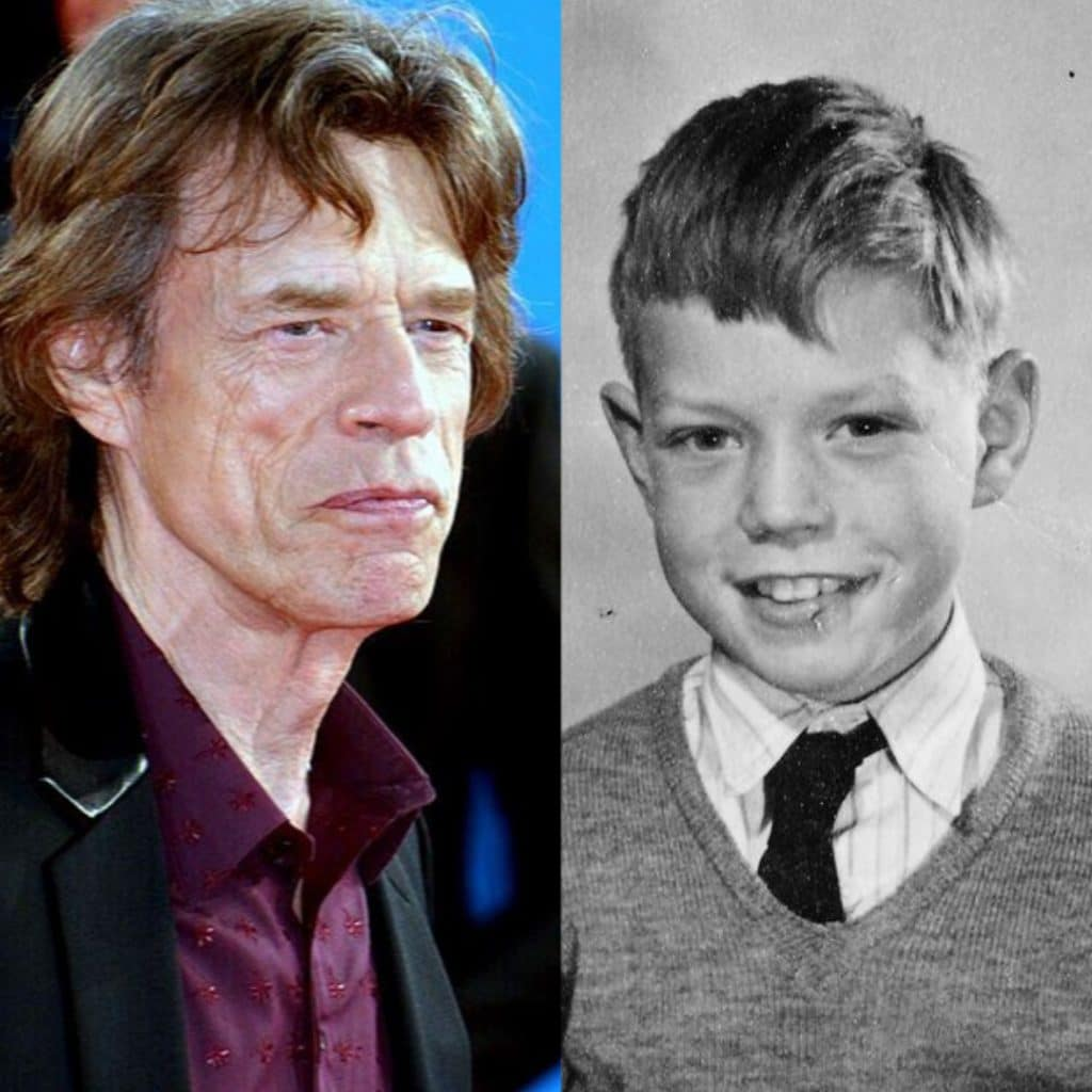 Mick Jagger young and older!