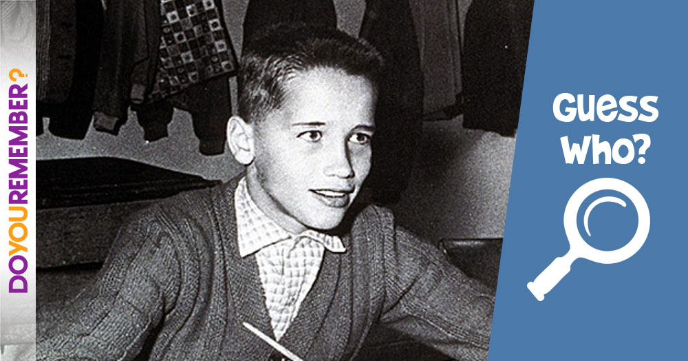 Guess Who this Multi-Talented Young Man Grew Up to Be?