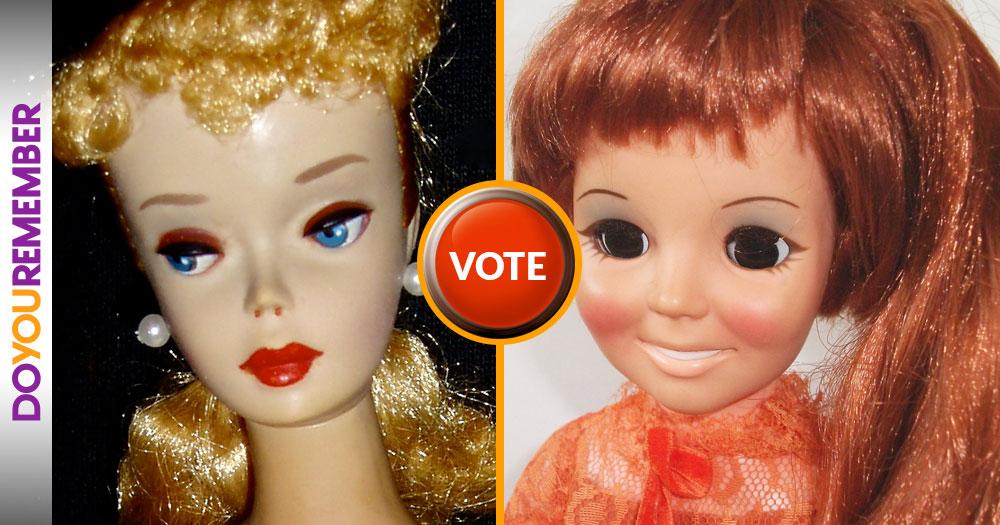 Barbie or Crissy?