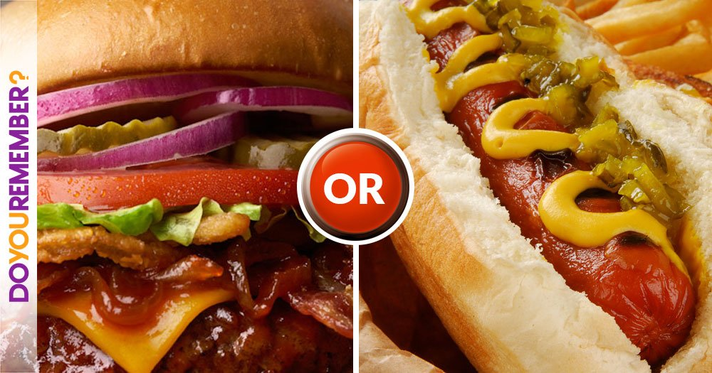 Burgers or Dogs?