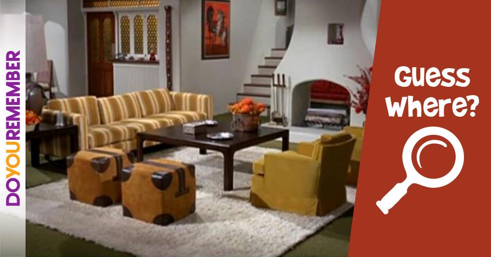Guess This Sitcom Living Room
