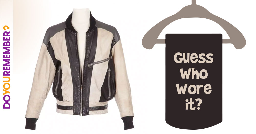 Can You Guess Which Class-Cutter Wore This Leather Jacket?