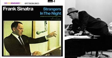 """Frank Sinatra's song, """"Strangers in the Night""""."""
