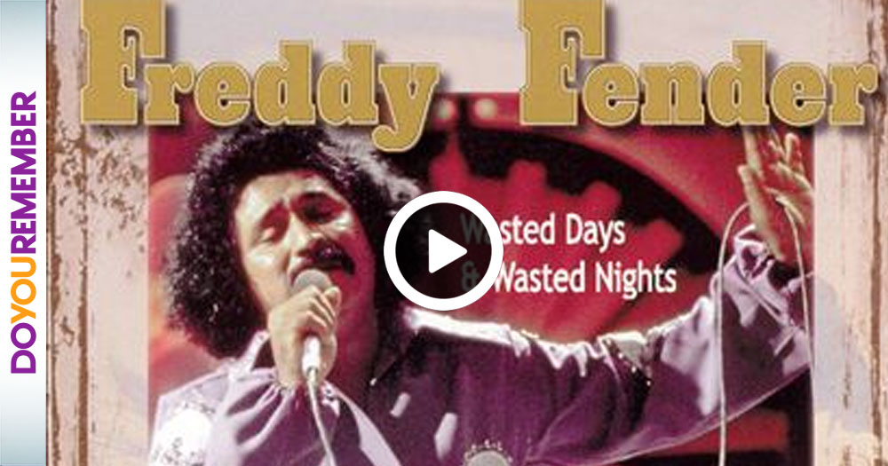 Freddy Fender's Blues Ballad That Everyone Wasted Days and Nights Listening To