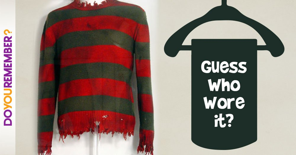 Can You Guess Who Wore This Raggedy Striped Sweater?