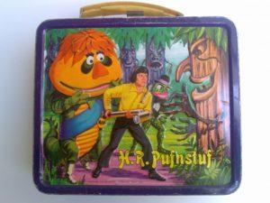 A H.R. Pufnstuf lunchbox.