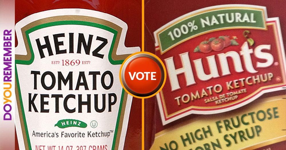 Heinz or Hunts?