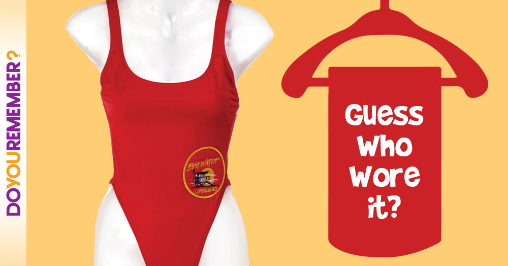 Can You Guess Which Lifeguard Wore This Bathing Suit ?