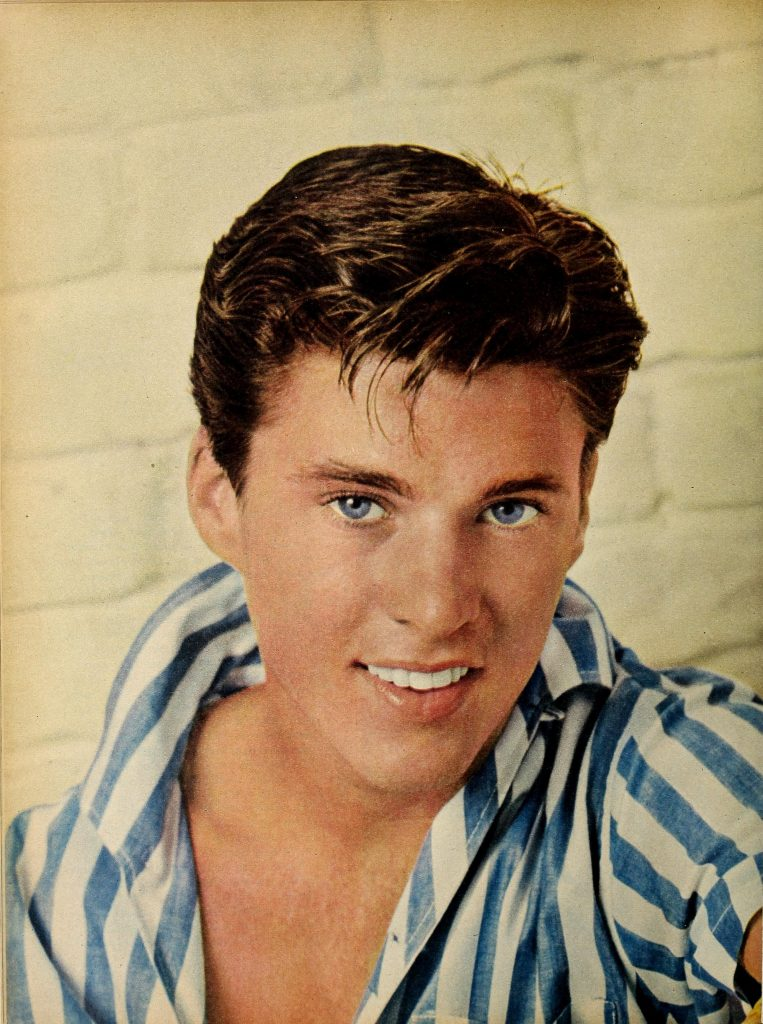 "Ricky Nelson who sung, ""Garden Party""."