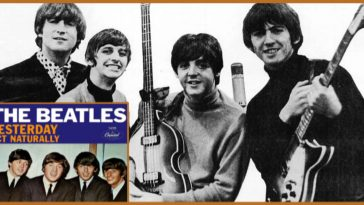 """The Beatles and their album, """"Yesterday"""""""