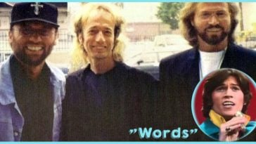 """Bee Gees' song, """"Words""""."""