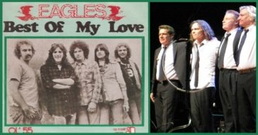 "The Eagles and their song, ""Best of My Love""."
