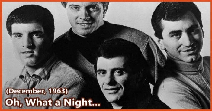 Frankie Valli, oh what a night