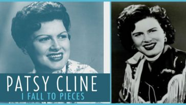 "Patsy Cline's legendary song, ""I Fall to Pieces""."