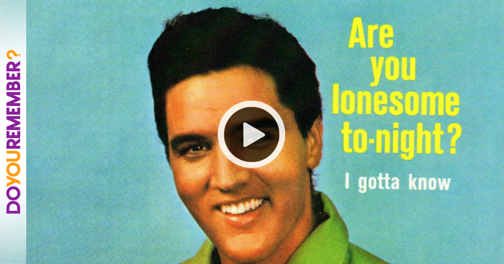 "Elvis Presley: ""Are You Lonesome Tonight"""