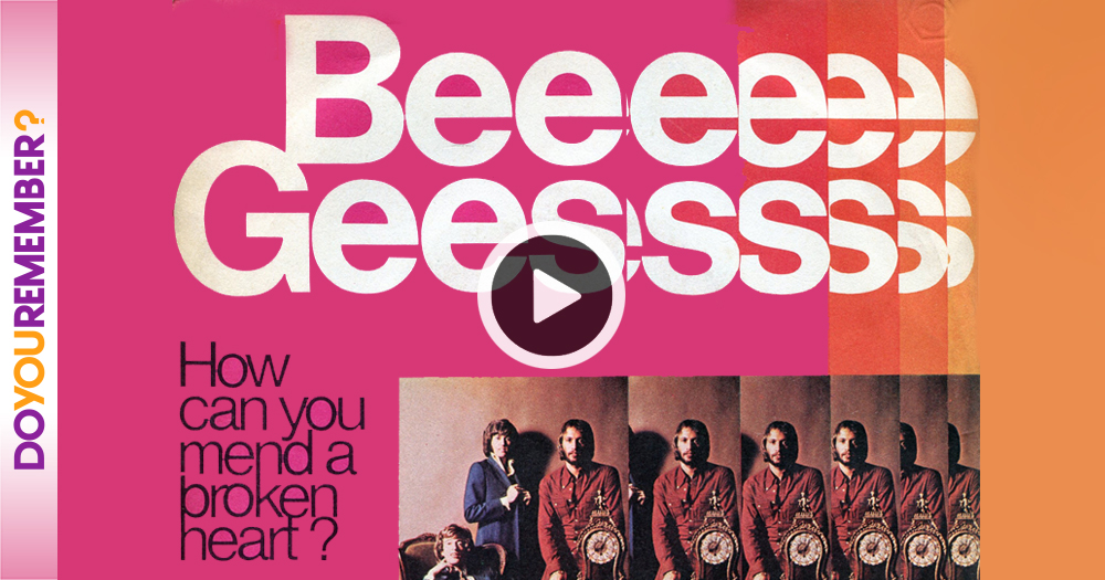 """Bee Gees: """"How Can You Mend A Broken Heart"""""""