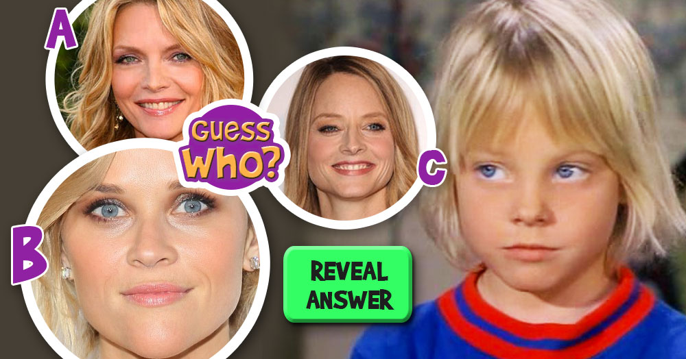 Guess Who The Grown Up Pretty Blonde Babe Is?