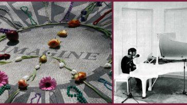 """John Lennon's infamous song, """"Imagine""""."""