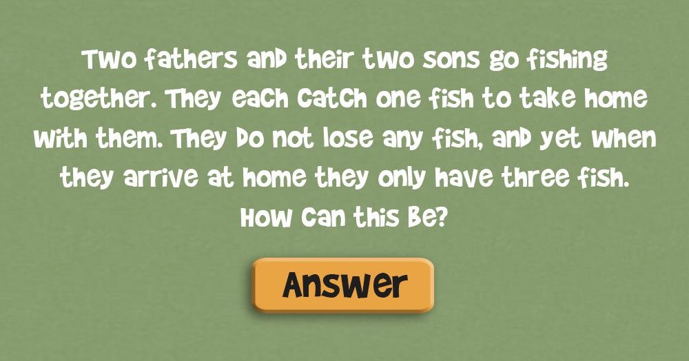 Can You figure Out this Brain-Scrambling Riddle?