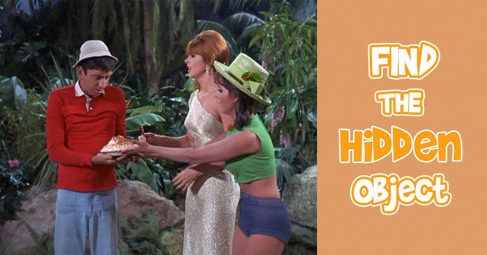 Can You Find the Hidden Chameleon Inside this Gilligan's Island Scene?