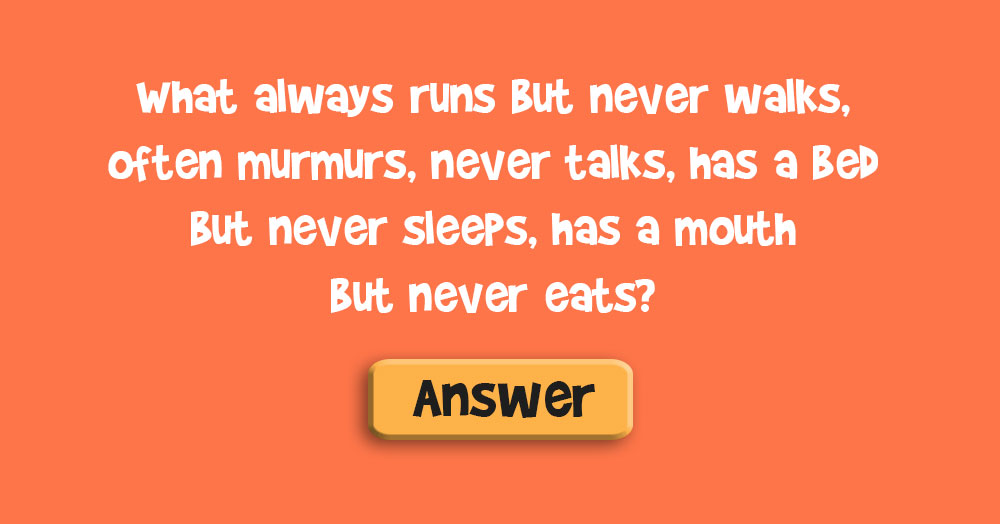 Do You Know the Answer to this Classic Riddle?