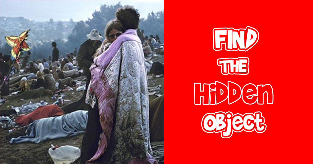Find the Elephant Hidden Inside this Iconic Woodstock Still