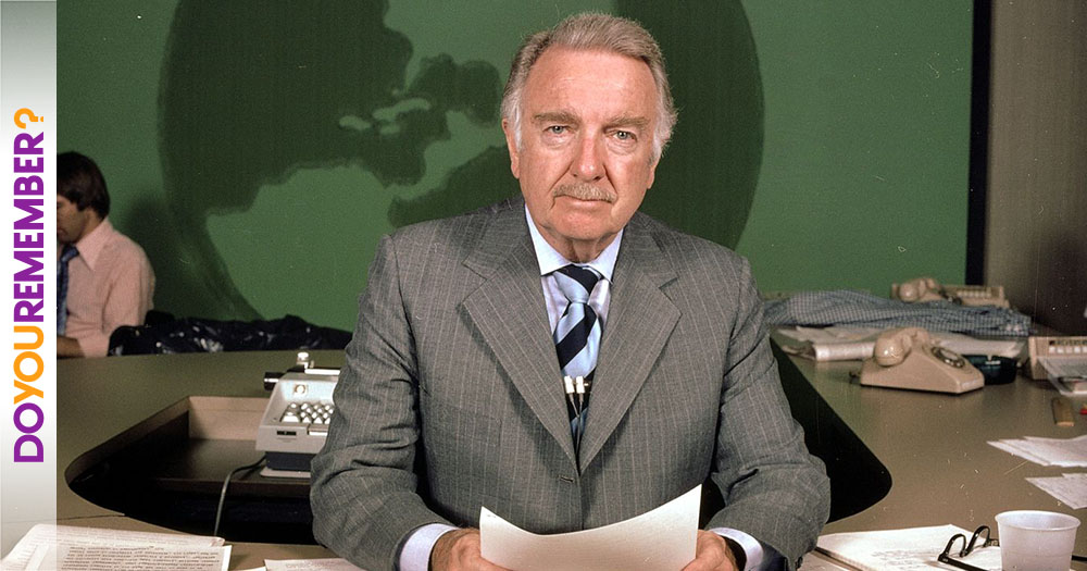 Remembering Walter Cronkite A Voice All America Trusted Imagine