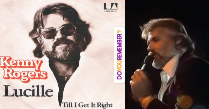 "Kenny Rogers singing ""Lucille"""