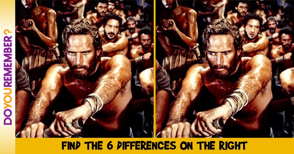 MisMatch: Ben Hur Rowing of the Galley Slaves