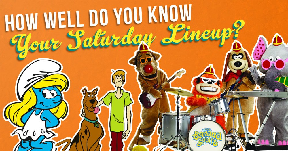 How Well Do You Know Your Saturday Morning Lineup?