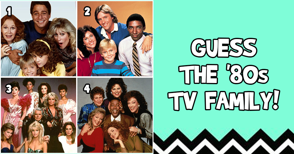 Guess The Famous TV Family '80s Edition? (Facebook Post)