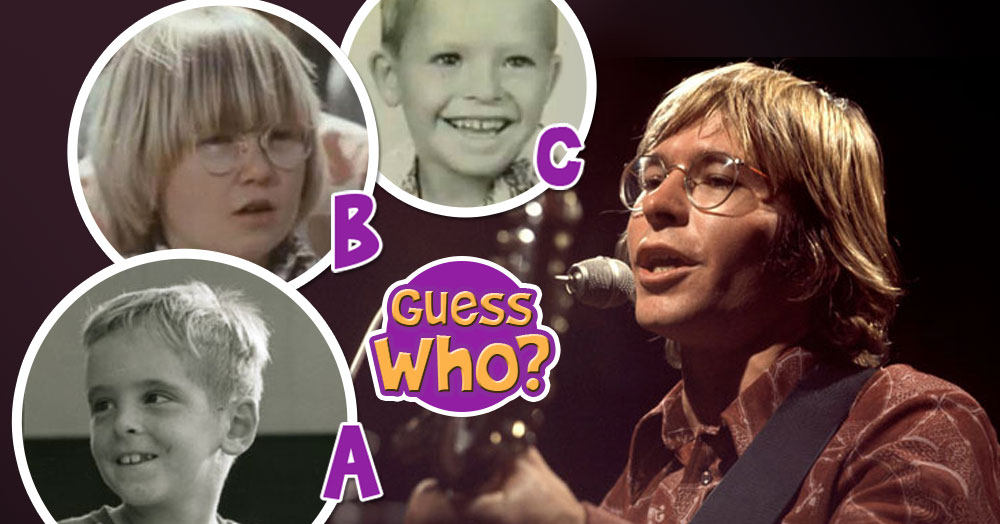 Guess Who Of These Toddlers Is The Real John Denver As A Kid?