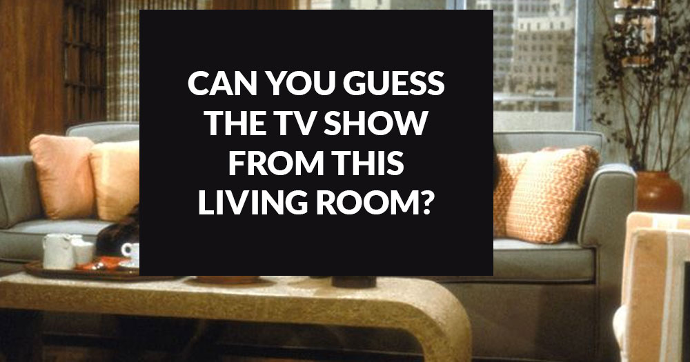 Can You Guess The Show From This Living Room?
