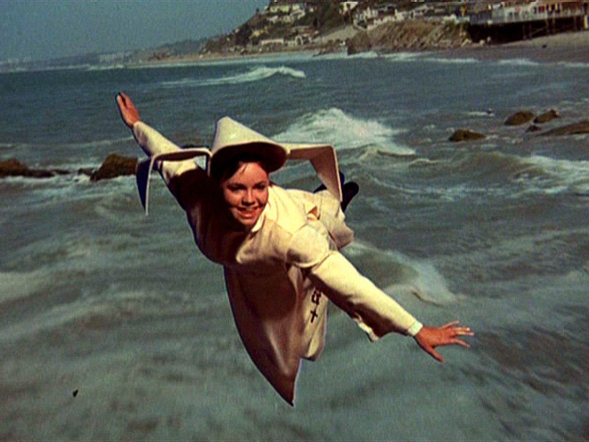 "Sally Field Takes Off As ""The Flying Nun"" 
