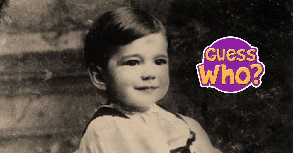 Guess Which Classic Silver Screen Actor This Toddler Grew Up To Be?