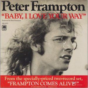 Peter Frampton Baby I Love Your Way