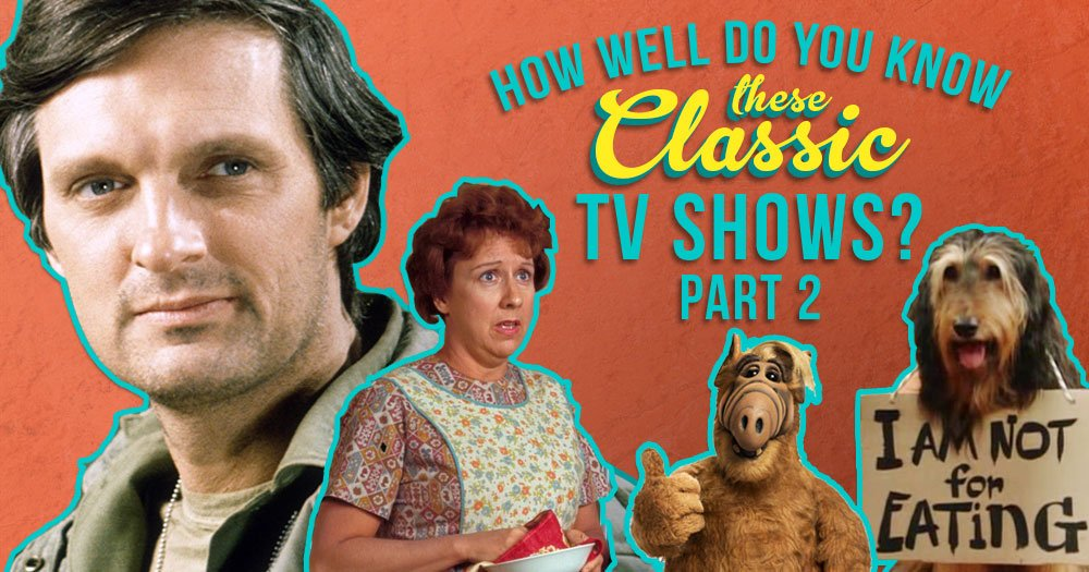 How Well Do You Know These Classic TV Shows? (Part 2)