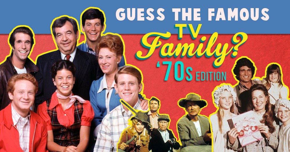 Test Your TV Knowledge and See if You Remember All of these TV Families' Last Name