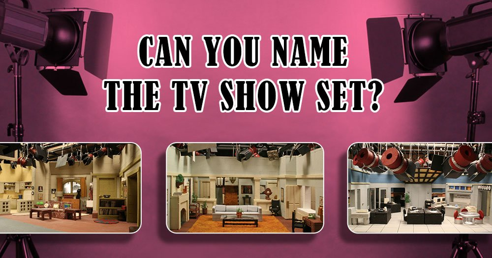 Test Your TV IQ! Name these Vintage TV Show Miniature Sets.