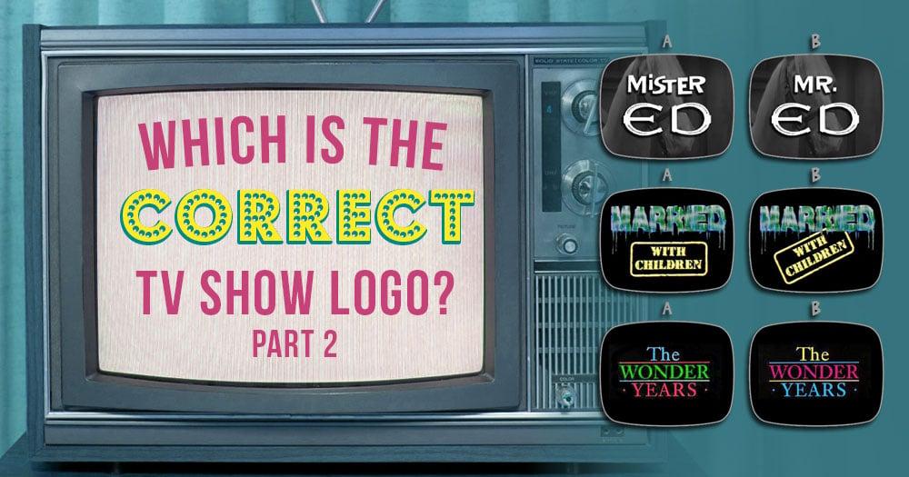 TV Show Logos (Part 2)