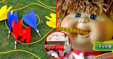 Dangerous toys of our childhood