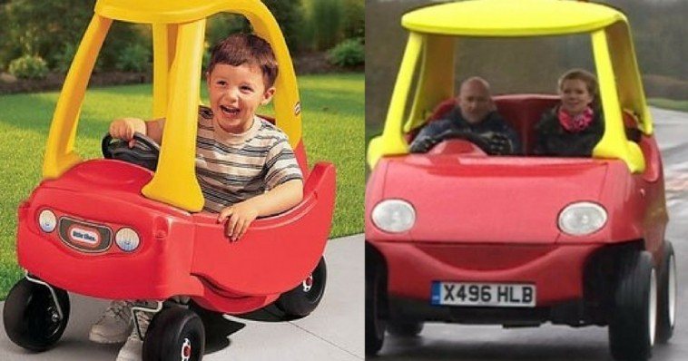 A Beloved Little Tikes Car For Adults Do You Remember